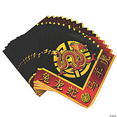 Paper Chinese New Year Luncheon Napkins