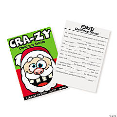 Paper Christmas Crazy Story Activity Books