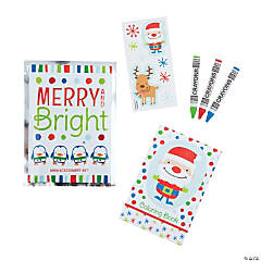 Paper Christmas Stationery Sets PDQ