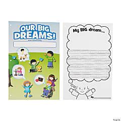 Paper Color Your Own Big Dreams Book