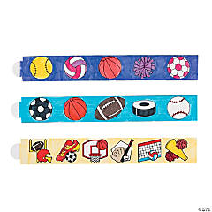 Paper Color Your Own Sports Bands