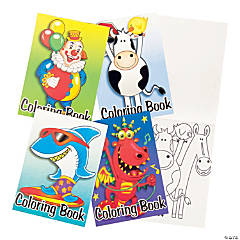 Paper Coloring Books