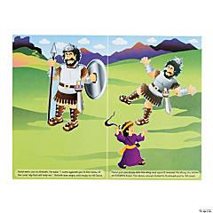 Paper David And Goliath Sticker Scenes