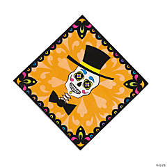 Paper Day Of The Dead Luncheon Napkins