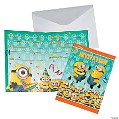 Paper Despicable Me™ Minions Invitations
