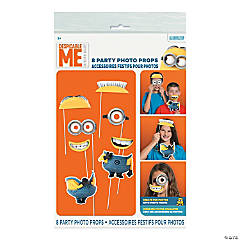 Paper Despicable Me Photo Stick Props