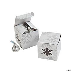Paper Die Cut Snowflake Gift Boxes