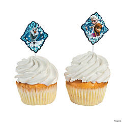 Paper Disney Frozen Cupcake Picks