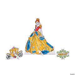 Paper Disney Princess Decorating Activity