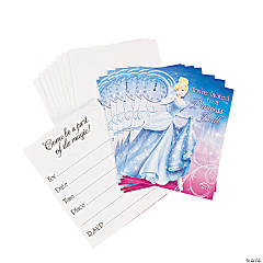 Paper Disney's Cinderella Sparkle Invitations