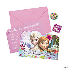 Paper Disney's Frozen Invitations
