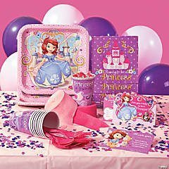 Paper Disney Sofia the First Basic Party Pack