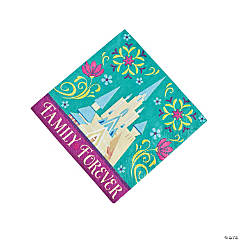 Paper Disney's Frozen Beverage Napkins