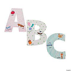 Paper DIY Jumbo Alphabet Letters