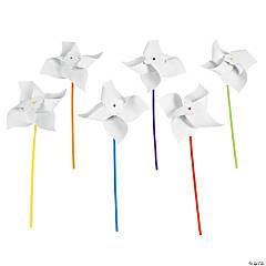 Paper DIY Jumbo Pinwheels - 24 Pc.