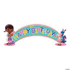 Paper Doc McStuffins Birthday Banner