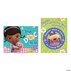 Paper Doc McStuffins Invite/Thank You Cards