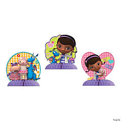 Paper Doc McStuffins Tabletop Décor