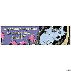 Paper Dr. Seuss™ a Person's a Person Banner