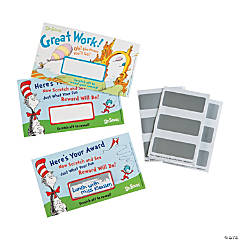 Paper Dr. Seuss™ Scratch-Off Reward Cards