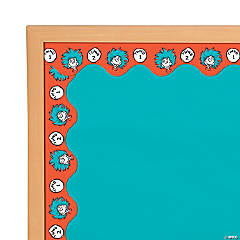 Paper Dr. Seuss™ Thing 1 & 2 Bulletin Board Border