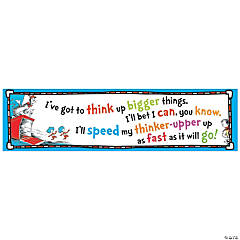 Paper Dr. Seuss™ Think Up Bigger Things Banner