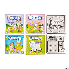 Paper Easter Activity Books