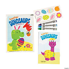 Paper Easter Dinosaur Stationery Sets PDQ