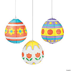 Paper Easter Egg Lanterns