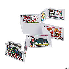 Paper Eric Carle's 1, 2, 3 to the Zoo Number Craft Kit