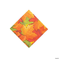 Paper Fall Breeze Beverage Napkins