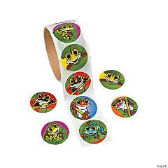 Paper Frog Sticker Rolls