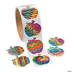 Paper Funky Apple Sticker Rolls