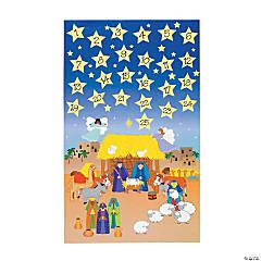 Paper Giant Advent Calendar Sticker Scenes