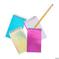 Paper Glitter Spiral Notepads