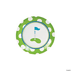 Paper Golf Par-Tee Dessert Plates