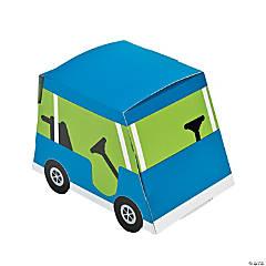 Paper Golf Par-Tee Favor Boxes