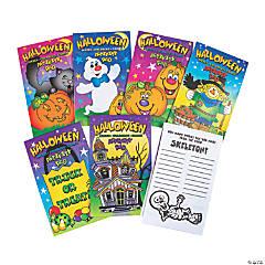 Paper Halloween Activity Pads PDQ