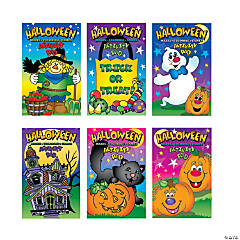 Paper Halloween Activity Pads