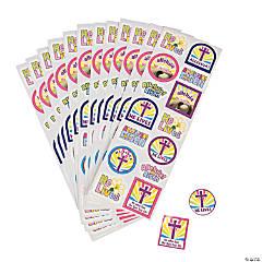 "Paper ""He Lives!"" Sticker Sheets"