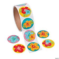 Paper Hibiscus Sticker Rolls