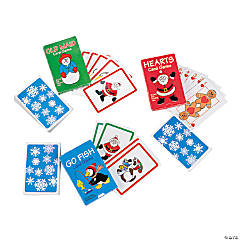Paper Holiday Card Game Assortment