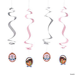 Paper Horse Party Hanging Swirl Decorations - 12 Pc.