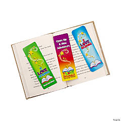 "Paper ""I Love Reading"" Bookmarks"