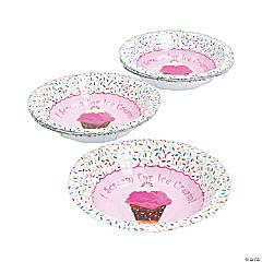 Paper I Scream For Ice Cream Dessert Bowls