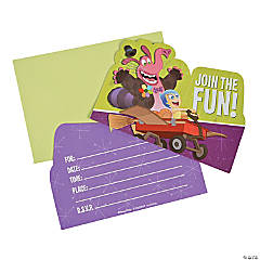 Paper Inside Out Party Invitations