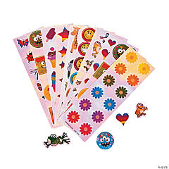Paper Iridescent Sticker Assortment