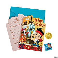 Paper Jake & the Never Land Pirates Invitations