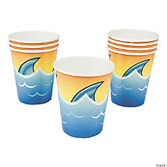Paper Jawsome Shark Cups