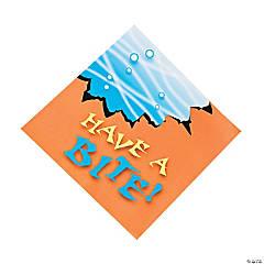 Paper Jawsome Shark Luncheon Napkins